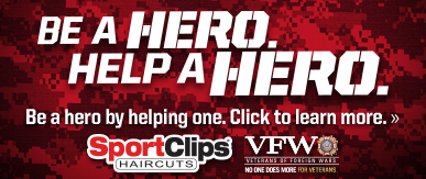 Sport Clips Haircuts of Orland Hills​ Help a Hero Campaign